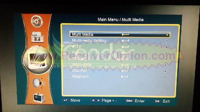 1506G 512 4M CONDOR P200HD RECEIVER NEW SOFTWARE WITH MAGICAM OPTION