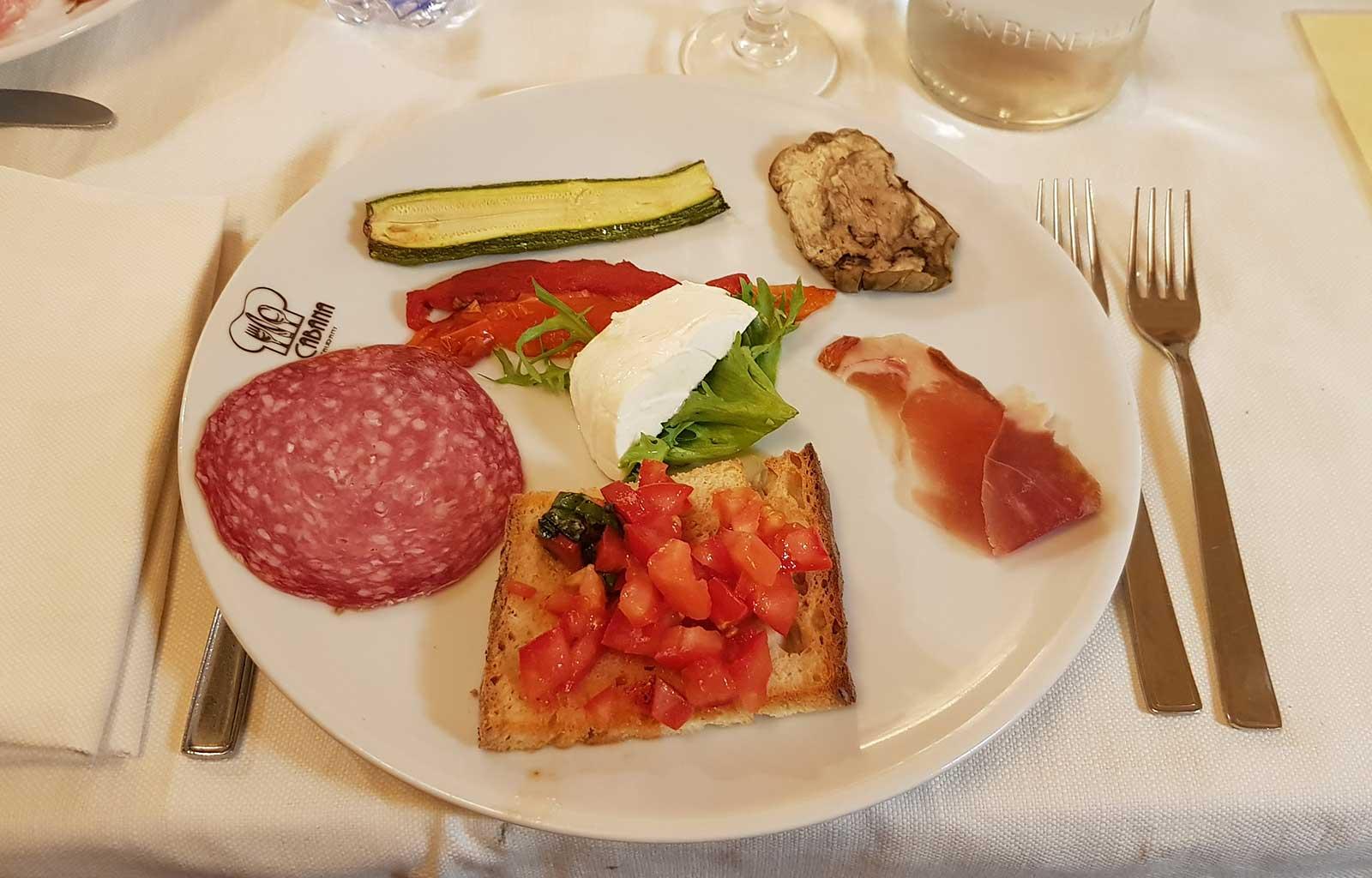 Voyage Italie Rome restaurant la cabana