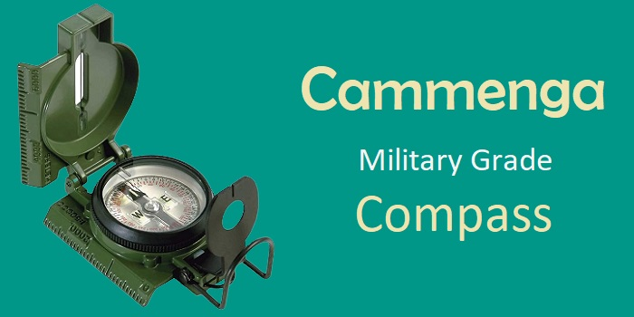 Cammenga - Military Grade Compass for Hiking, Camping, etc