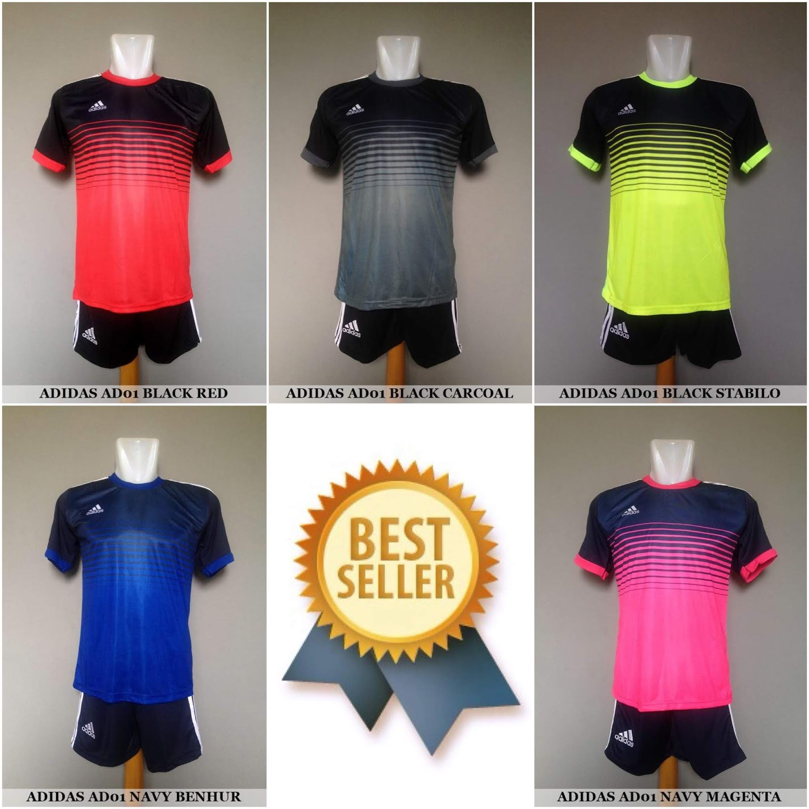 440 Desain Baju Futsal Keren Depan Belakang HD