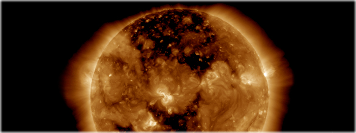 buraco coronal ressurge em novembro de 2016