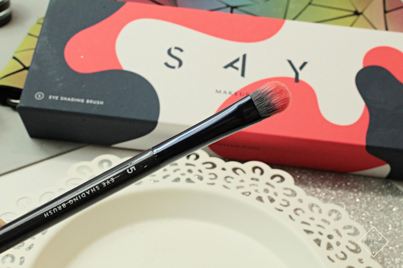 Pędzel do cieni, EYE SHADING BRUSH NR 5 SAY MAKEUP