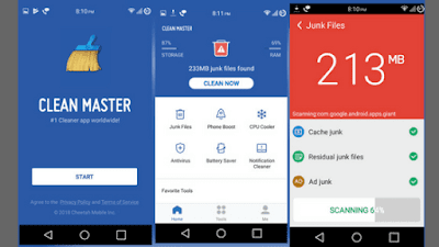 best junk cleaner apps for android, best android cleaner apps for android, best antivirus apps