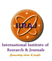 iiraj -  International Institute of Research And Journals