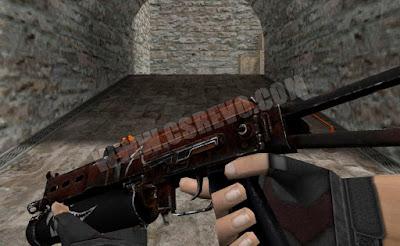Skin PP-19 Bizon - Rusty Shark - HD CS 1.6
