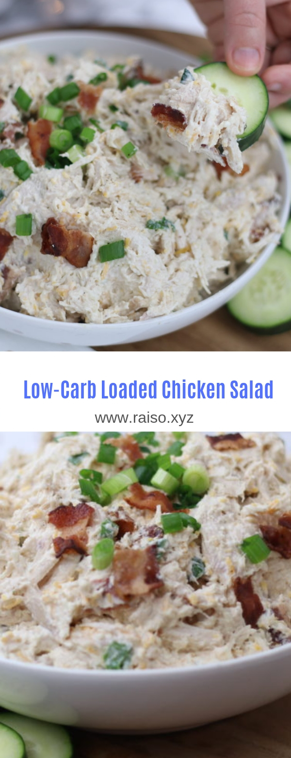 LOW CARB KETO CHICKEN SALAD