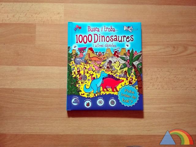 Portada del libro Busca y encuentra 1000 dinosaurios y otros objetos