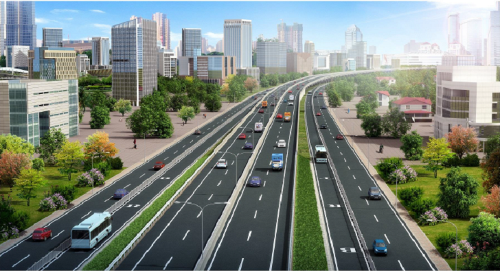 Nairobi JKIA-JG Express Way Design Render. Image Source: KeNHA Project Details