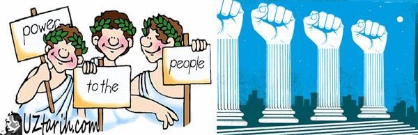 yunan demokrasisi, greek democracy