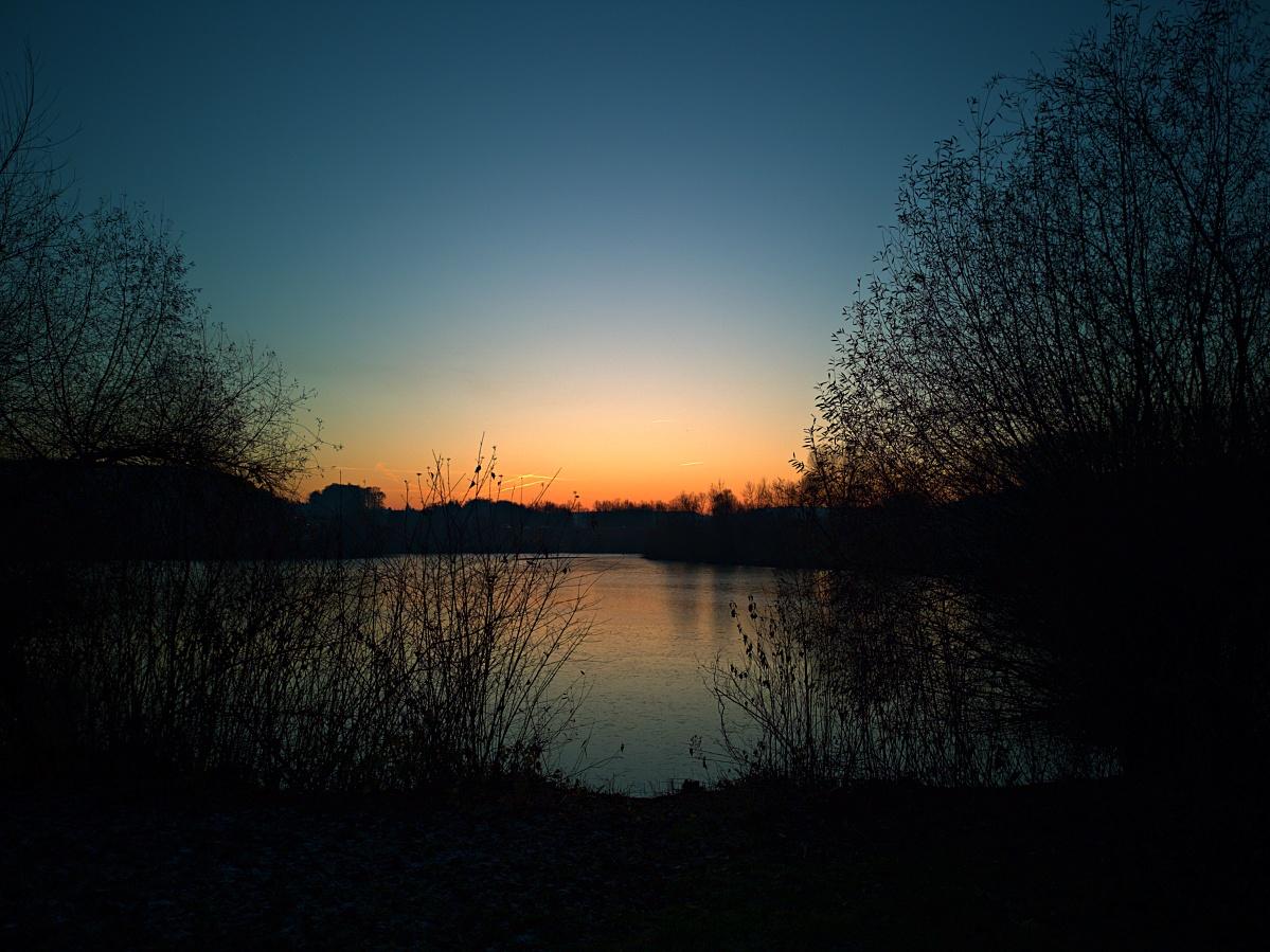 Notfall-Immer-Dabei-Kamera – Sonnenuntergang am Aileswasen
