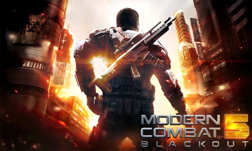 Modern Combat 5 Blackout Apk+Data Android (Tanpa Root)