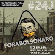 Pedreiras será palco de manifestação contra presidente Bolsonaro