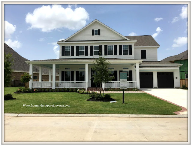 New Construction-Open House-Southern Style-Home-Wrap Around Porch-White Farmhouse-From My Front Porch To Yours