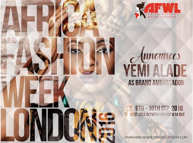 Yemi Alade is Africa Fashion Week 2016 Brand Ambassador