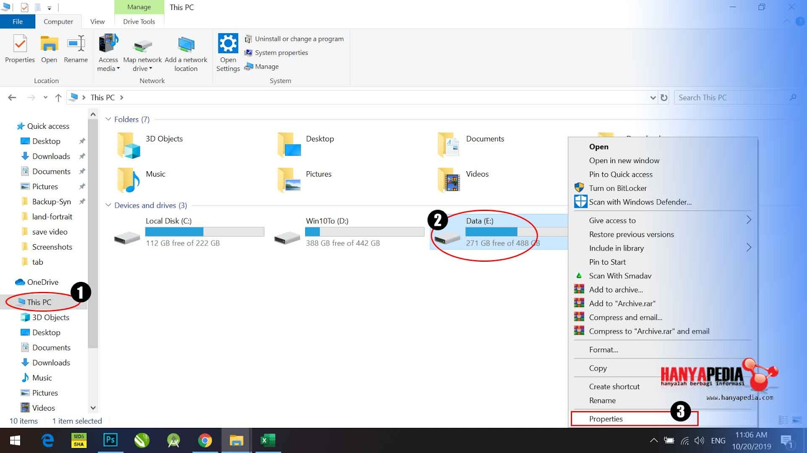 Hapus Drive Virtual dari Windows 10