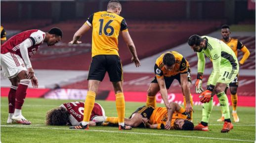 Arsenal vs Wolverhampton Wanderers 1–2 Highlights
