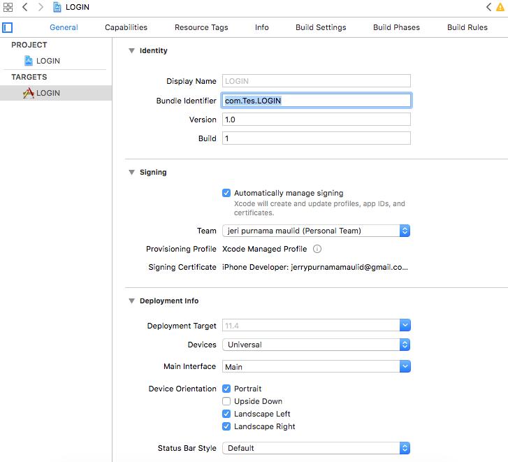 Create Login With Google Swift 4 - Script-T