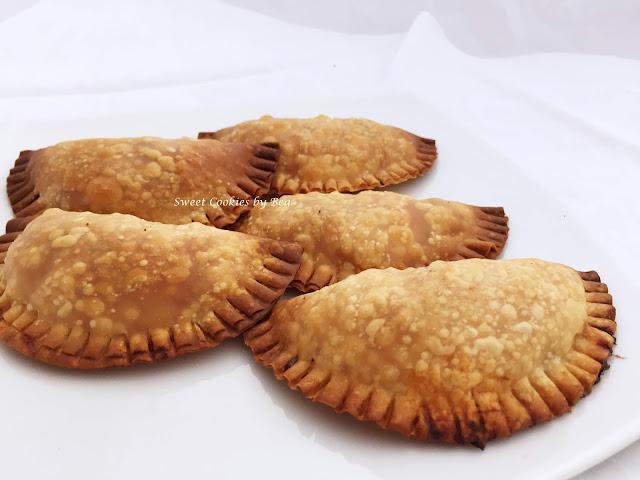 Empanadillas de pollo con verdura