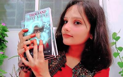 Thousand Feet Above novel fantasy novel, urja aklecha, notion press