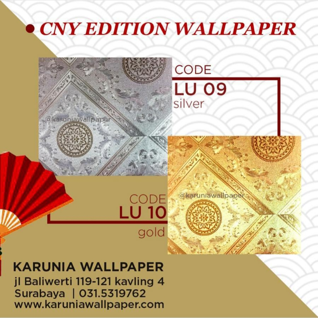 toko jual wallpaper emas cina