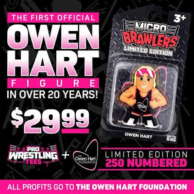 Owen Hart Micro Brawlers Figure by Pro Wrestling Tees