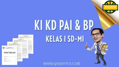 Pada kesempatan ini admin akan berbagi link download KI dan KD Pendidikan Agama Islam  Download KI KD PAI SD Kelas 1 Kurikulum 2013