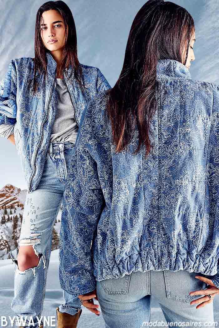 moda otoño invierno 2021 denim