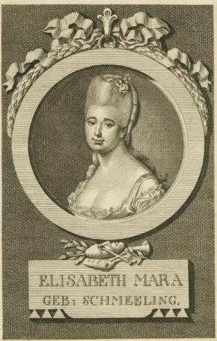 Gertrud Mara  (1749-1833) portrait