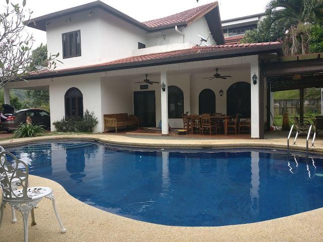 taj villa, afb fun day, taj villa jalan bulbul, taj villa ampang, lokasi reunion sekitar ampang,