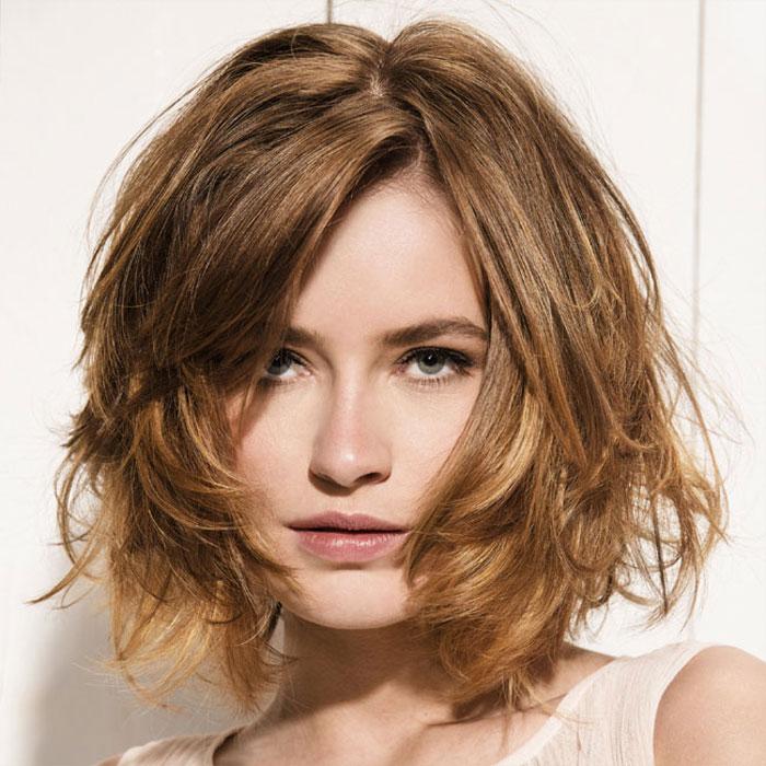 en el es tendencia asegurada aqu las mejores imgenes de cortes de pelo mediano en degrad despeinado como fuente de inspiracin