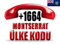 +1 664 Montserrat ülke telefon kodu