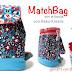 PROBENÄHEN | Keko kreativ | Matchbag als Kinderrucksack