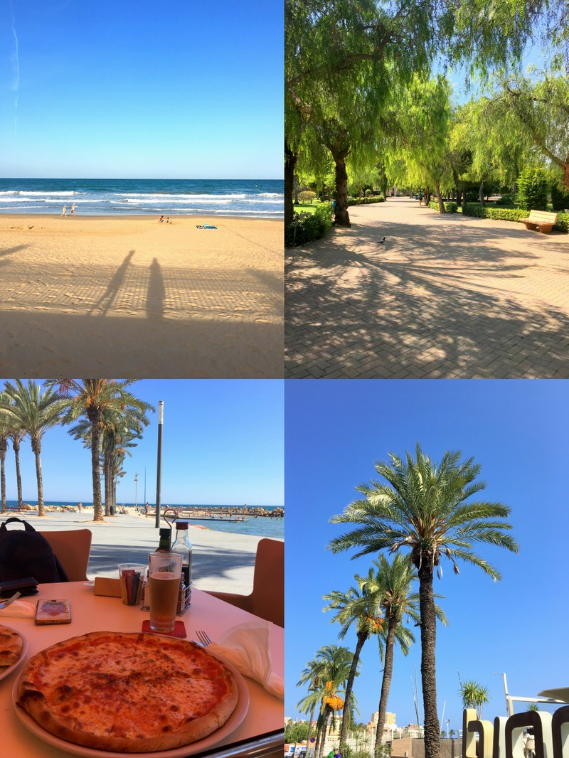 Lomakuvia Espanjasta