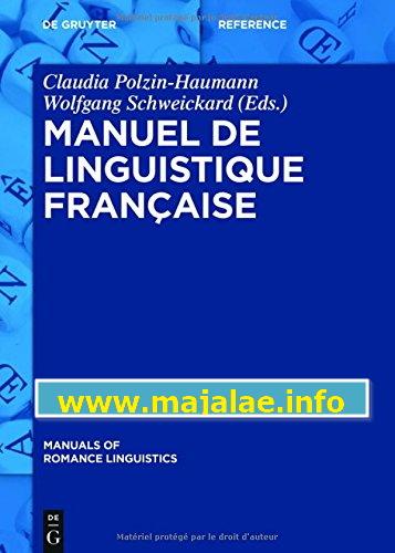 Manuel de linguistique française ,Claudia Polzin-Haumann