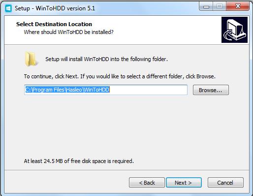 Hướng dẫn cài đặt phần mềm WinToHDD đơn giản c