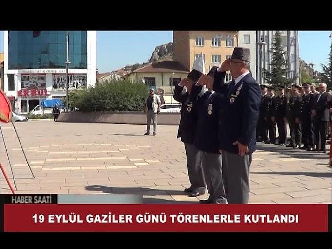 19 EYLÜL GAZİLER GÜNÜ TURHAL'DA TÖRENLE KUTLANDI.