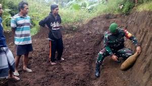 Benda Mirip Bom Mortir Ditemukan Oleh Dua Petani Karangpawitan Garut