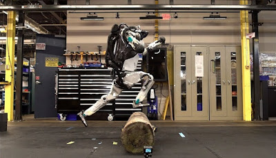 We are already afraid for humanity: the robot from Boston Dynamics and its dashing parkour