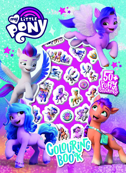 My Little Pony Movie - Book and Activity Set with Tin