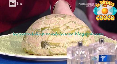 Zuccotto di carne e verdure ricetta Messeri da Prova del Cuoco