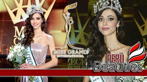 Maria Boichenko es Miss Grand Czech Republic 2019