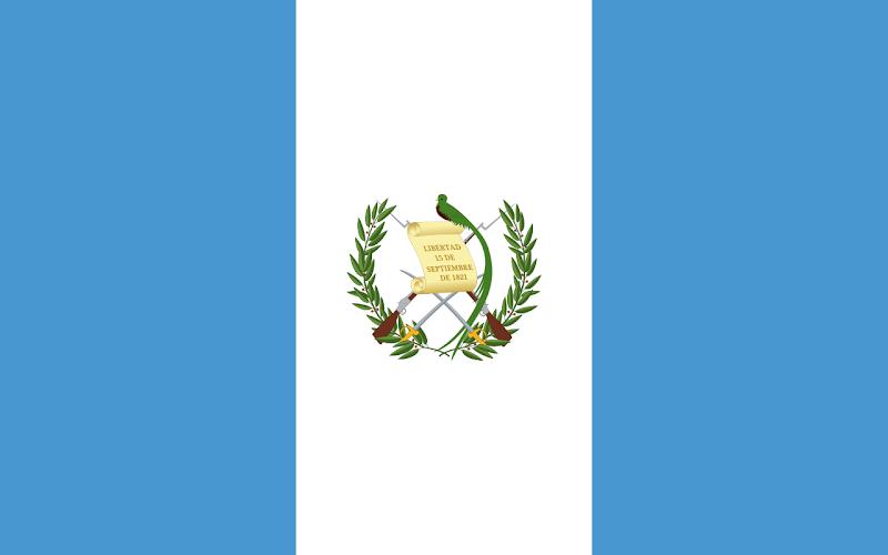 Logo Gambar Bendera Negara Guatemala PNG JPG ukuran 800 px