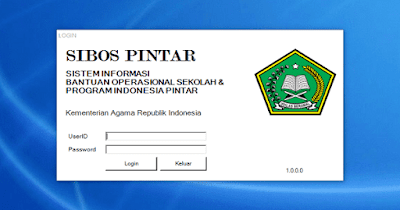 Download Aplikasi SIBOS PINTAR Madrasah 2018 Dilengkapi Cara Instal