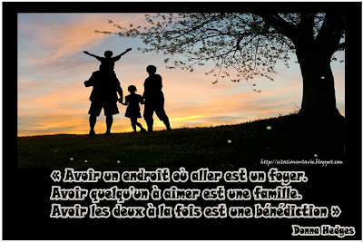 Belle citation sur la famille - Citation sur la vie