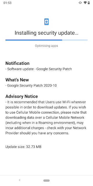 Nokia 9 PureView receiving October 2020 Android Security patch