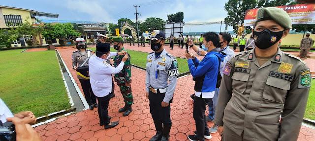 Kodim Tenggarong Gelar Pasukan Dalam Rangka Operasi Ketupat Mahakam 2021