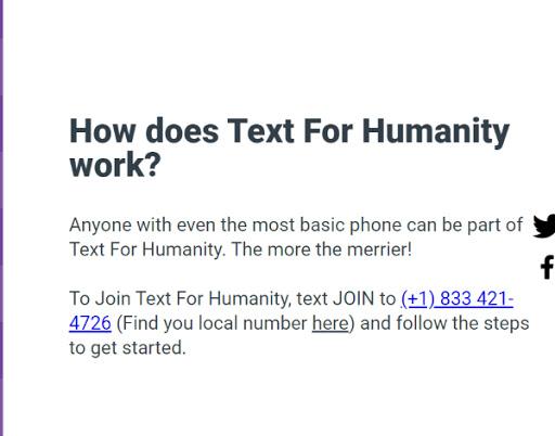 text on how an app works