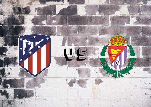 Atlético Madrid vs Real Valladolid  Resumen