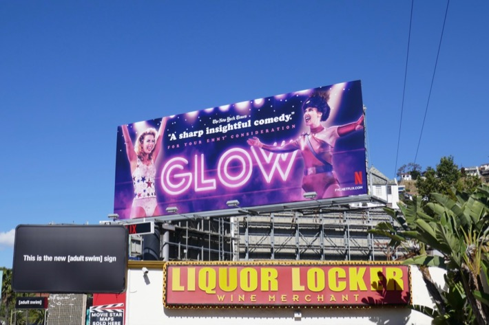 GLOW 2019 Emmy FYC billboard