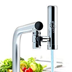 GEYSER EURO - Filtre à eau pour robinet de cuisine, purificateur d'eau avec matériau ultra-absorbant,